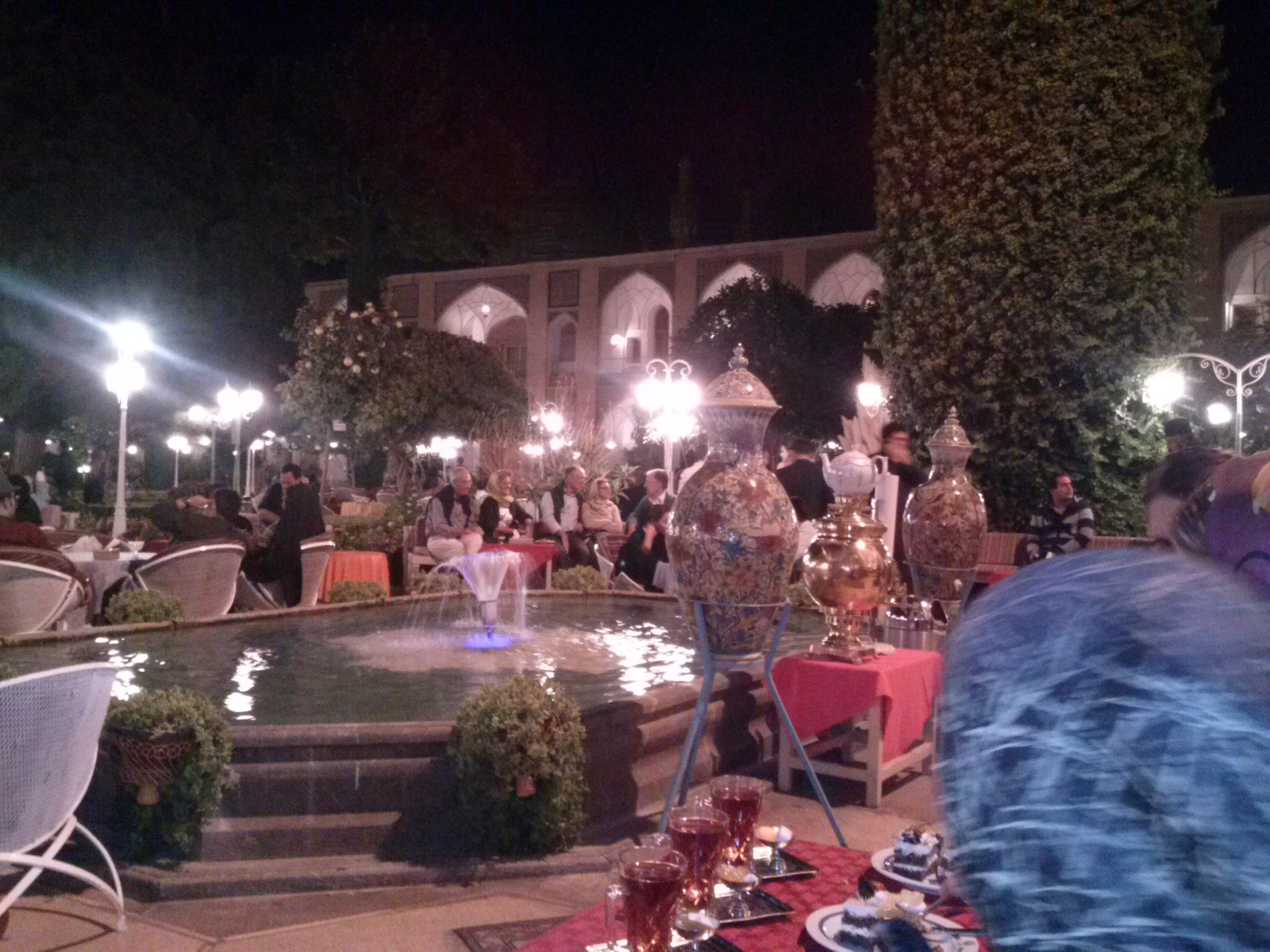 Garten des 'Abbâsî-Hotels