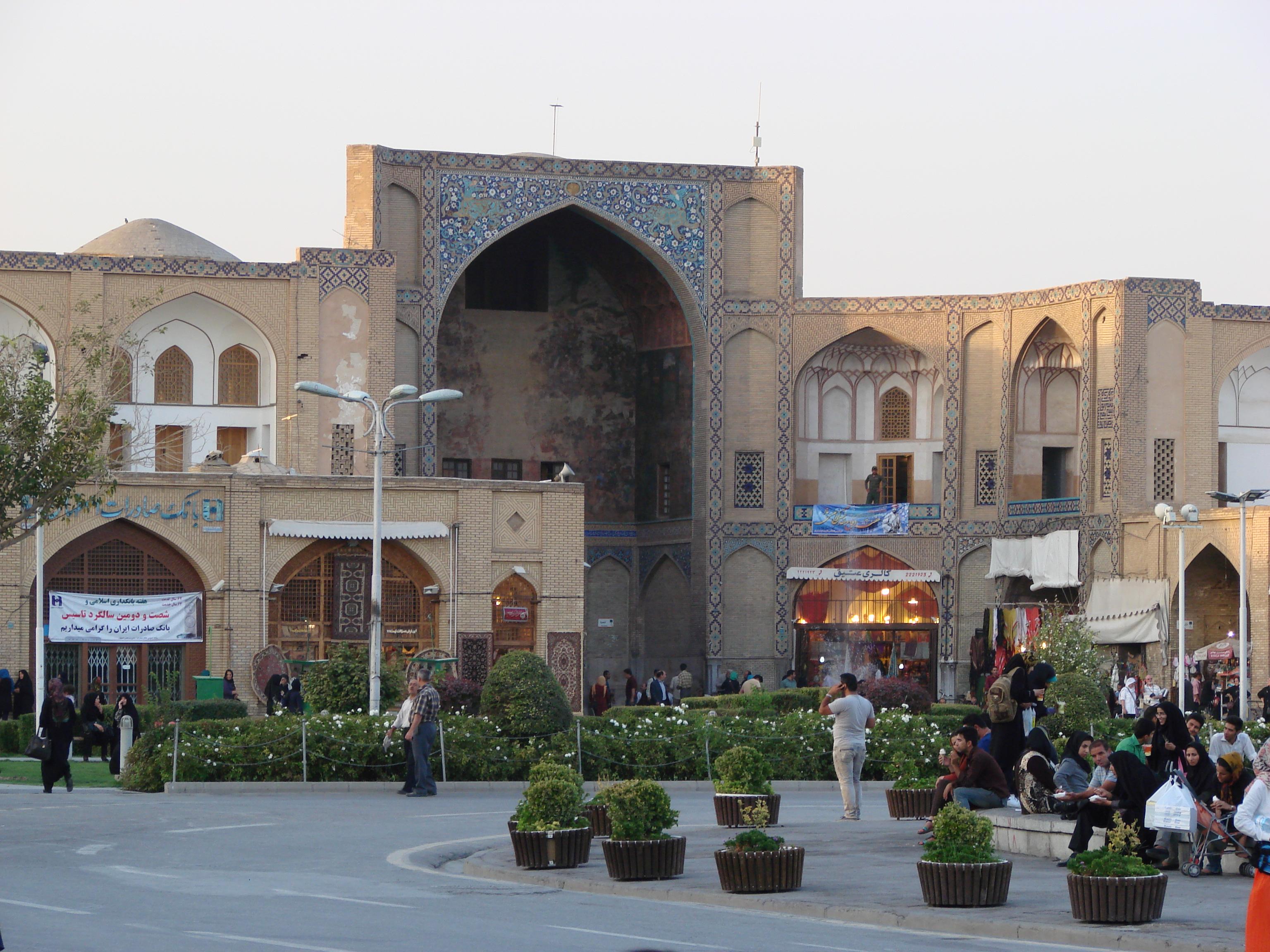 Eingangstor zum Bazar