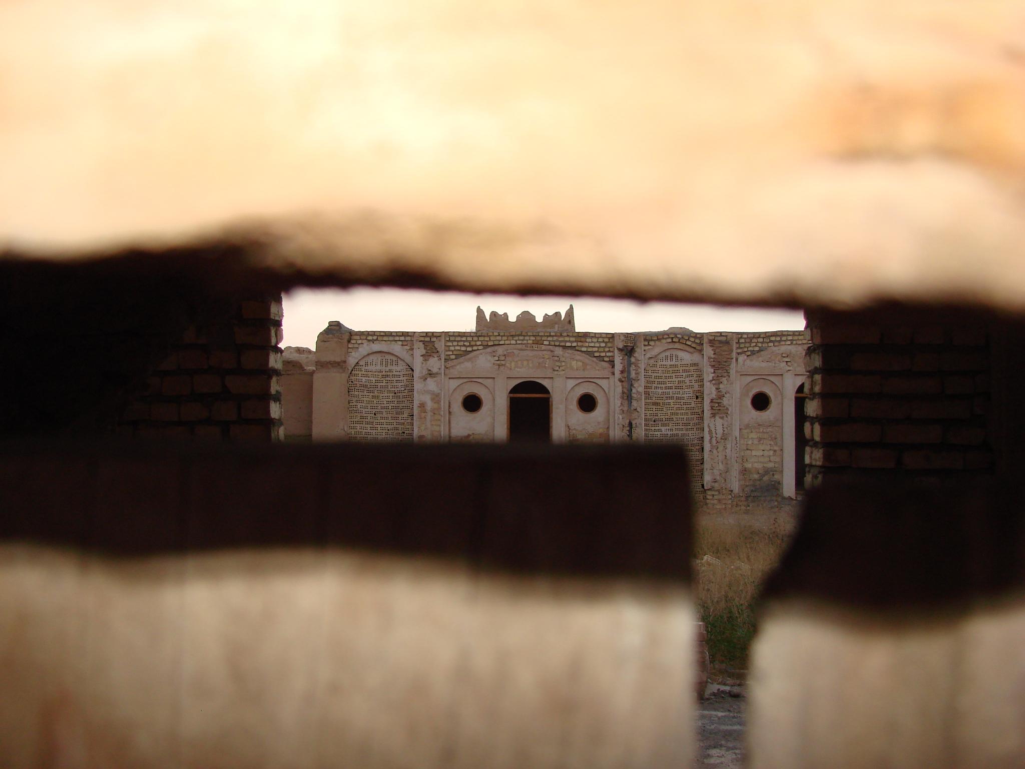 Blick in die Festung