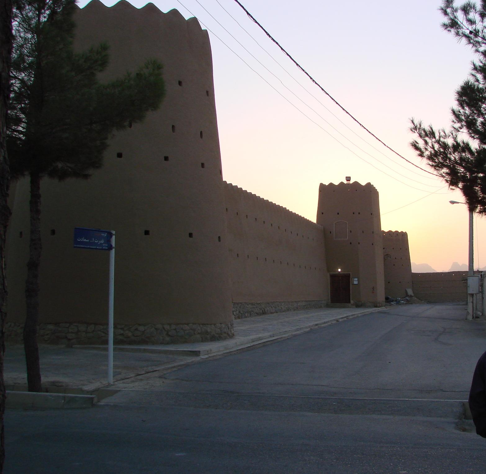 Eine weitere Seite der Festung