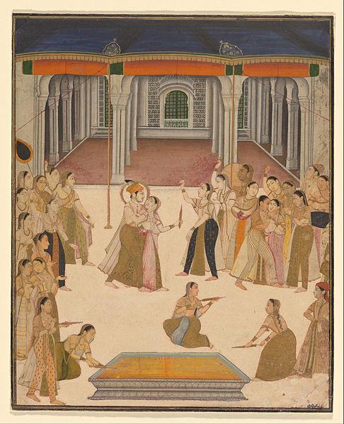 Lucknow, Uttar Pradesh, India, um 1800, public domain, Quelle: Wikimedia Commons