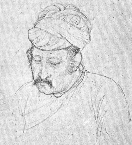Akbar in seinem letzten Lebensjahr
