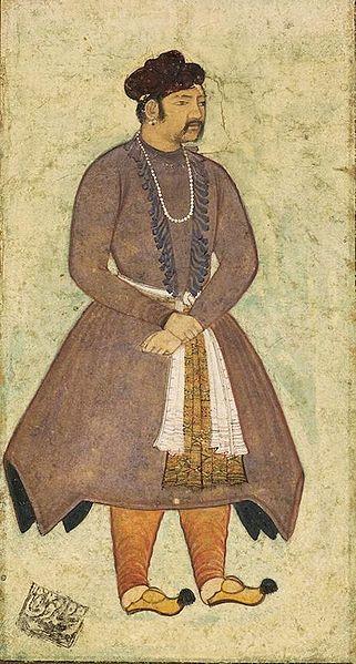 Porträt Akbars von Manohar. Gemeinfrei. Quelle: Wikimedia Commons.