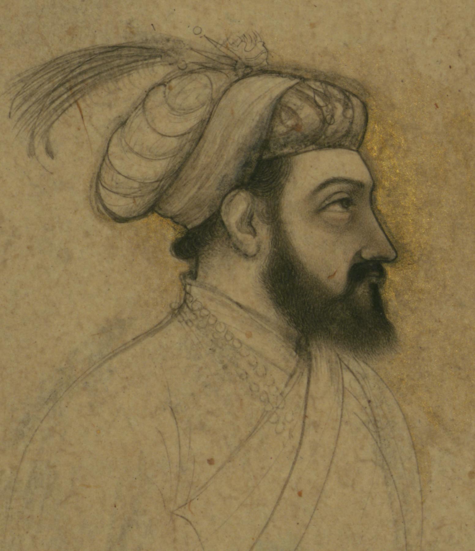 Porträt Schâh Dschahâns (Public Domain)